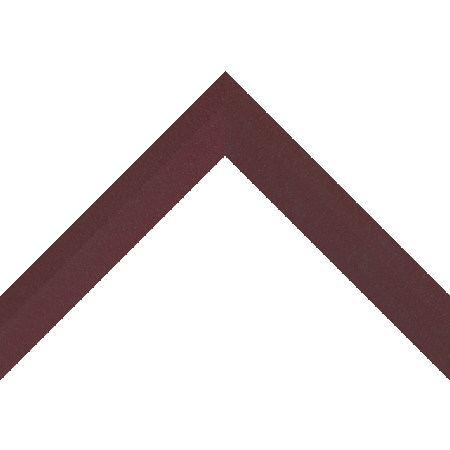 1-1/4″ Claret Suede Back Bevel Wrap