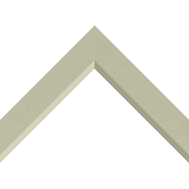 1-1/2″ Ivory Silk Front Bevel Wrap