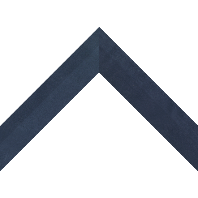 1-1/2″ Navy Suede Back Bevel Wrap