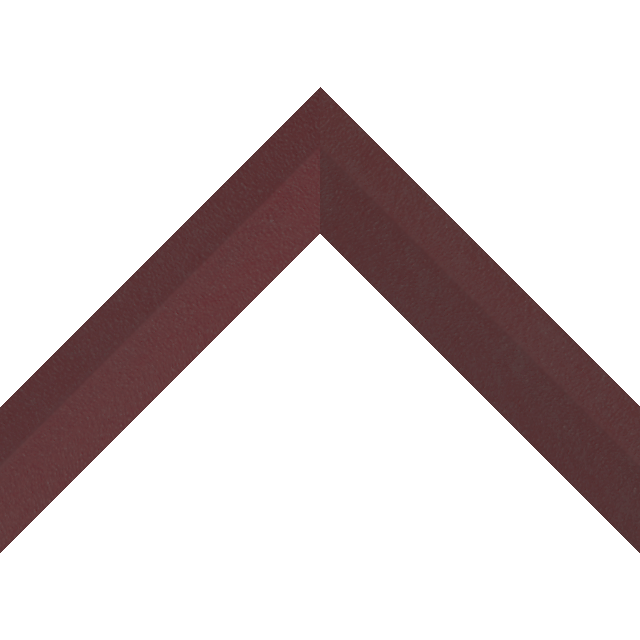 1-1/2″ Claret Suede Back Bevel Wrap