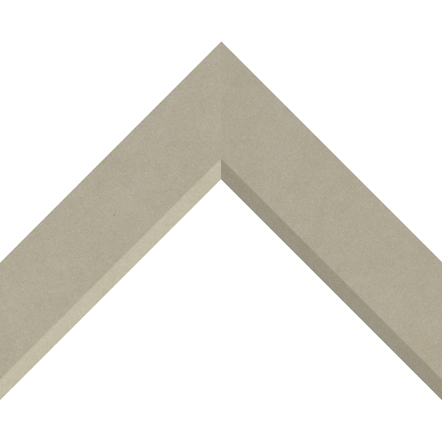 2″ Fawn Suede Front Bevel Liner Picture Frame Moulding