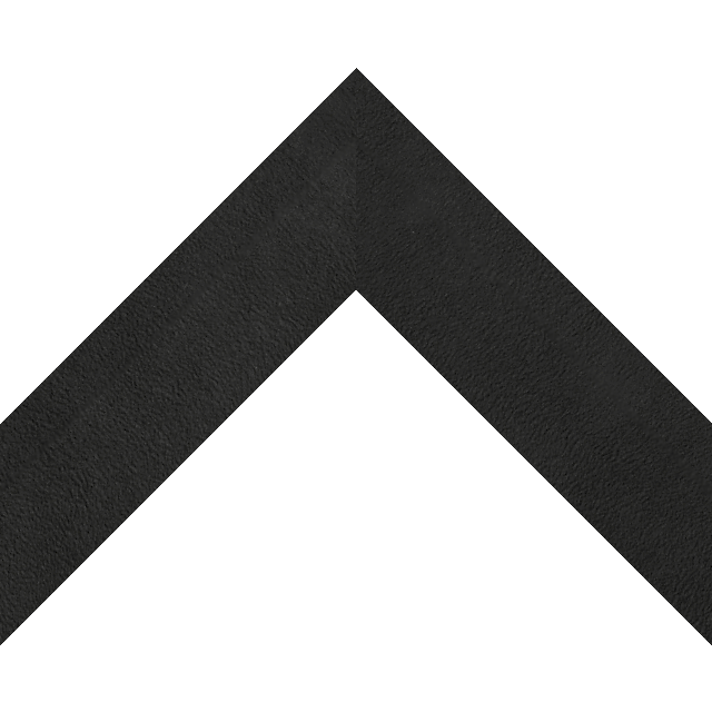 2″ Black Suede Back Bevel Wrap