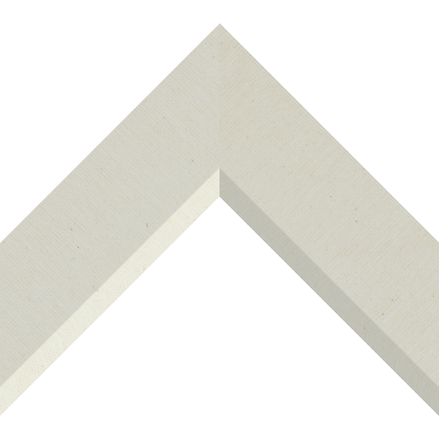 2-1/2″ Brussels Cream Linen Front Bevel Wrap