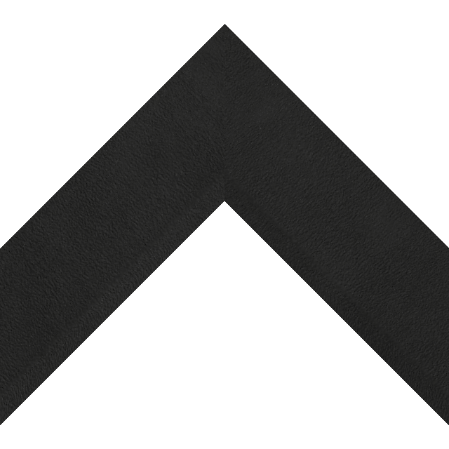 2-1/2″ Black Suede Front Bevel Wrap