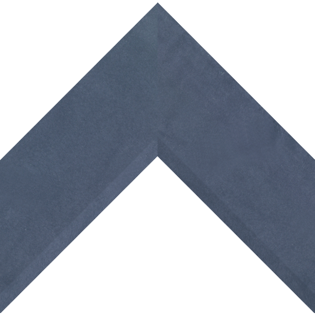 3″ Navy Suede Front Bevel Wrap