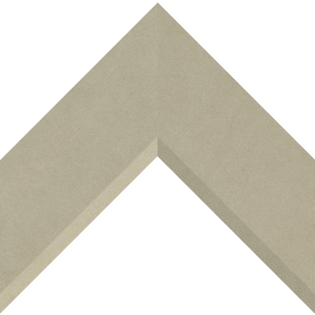 3″ Ultra Taupe Suede Front Bevel Wrap