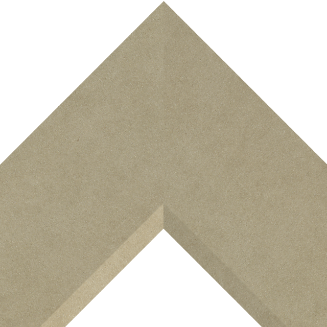 4″ Fawn Suede Front Bevel Wrap
