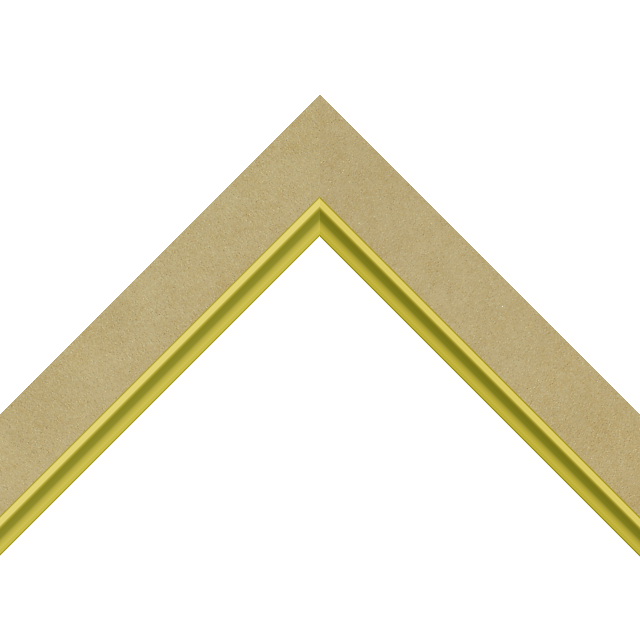 1-1/4″ Palamino Suede Flat with Gold Scoop Lip