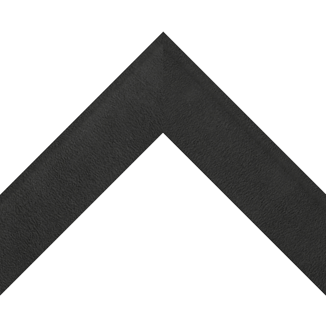 2″ Shallow Black Suede Scoop Wrap