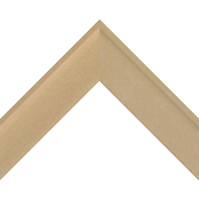 2″ Shallow Thatch Suede Scoop Liner Picture Frame Moulding