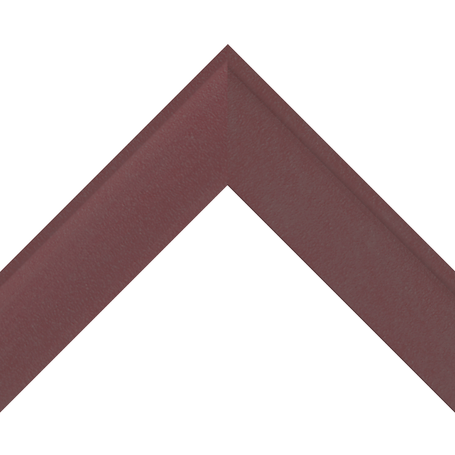 2″ Shallow Claret Suede Scoop Wrap