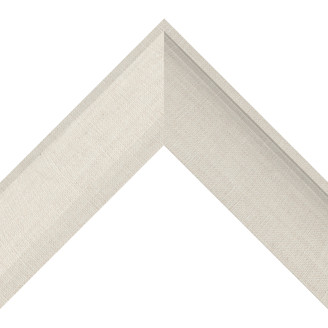 2-1/2″ Natural Linen Scoop Wrap