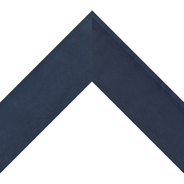 2-1/2″ Navy Suede Scoop Wrap